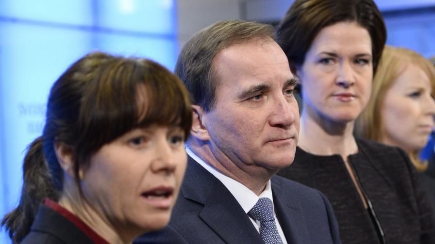 Шведският премиер Щефан Льовен