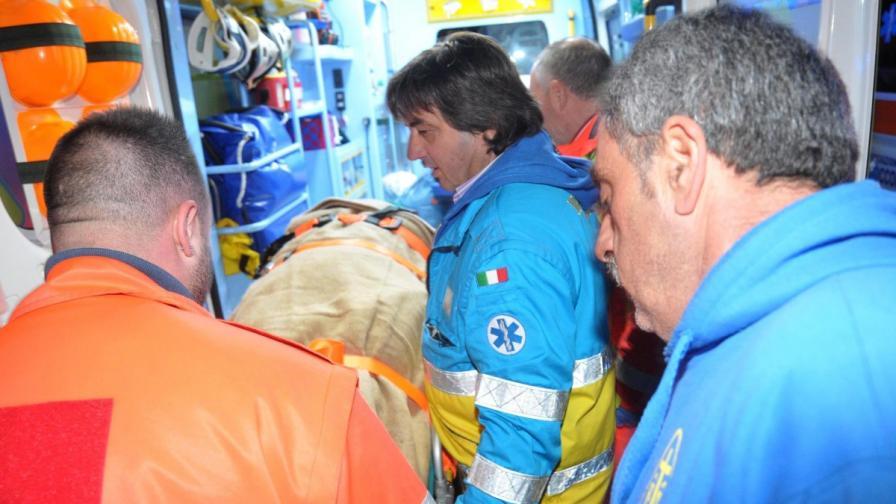 Двама българи от горящия ферибот вече са спасени
