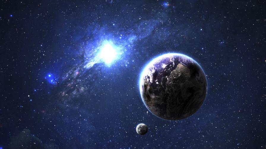 """Ето как се ражда звезда - вижте """"бебе"""" на 1 млн. години"""