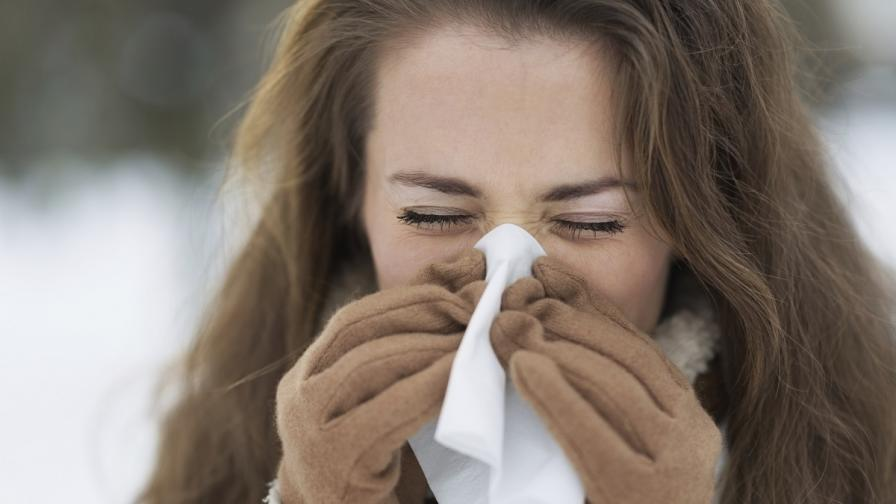 """Заразените от грип у нас са най-вече с т. нар. """"свински"""""""