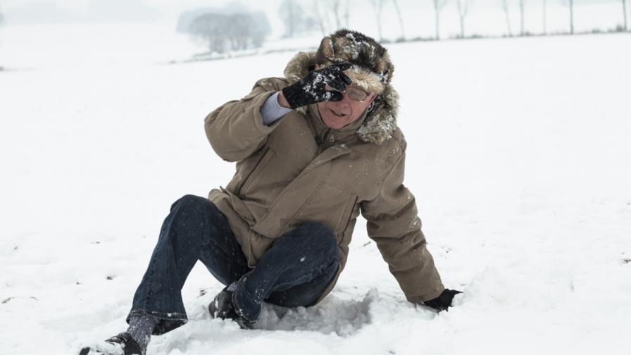 Как да ходим по леда, за да не се нараним
