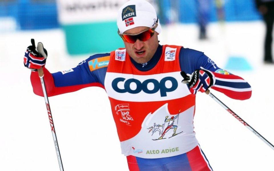 Звезда в ски-бягането е Спортист на 2015 г. в Норвегия