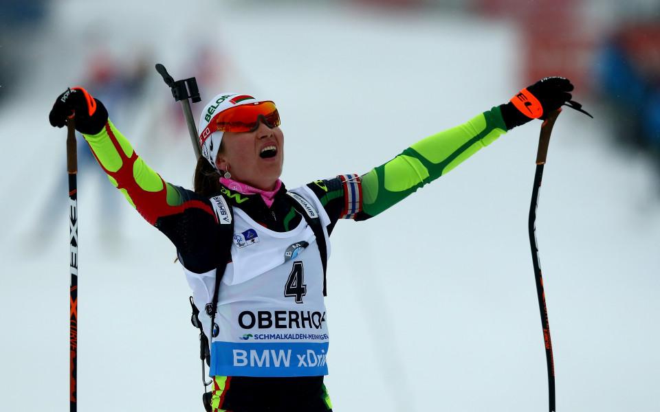 Домрачова спечели спринта в Контиолахти