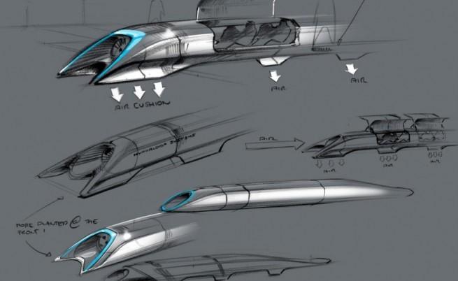 Влак-капсула ще се движи с над 1000 км/ч