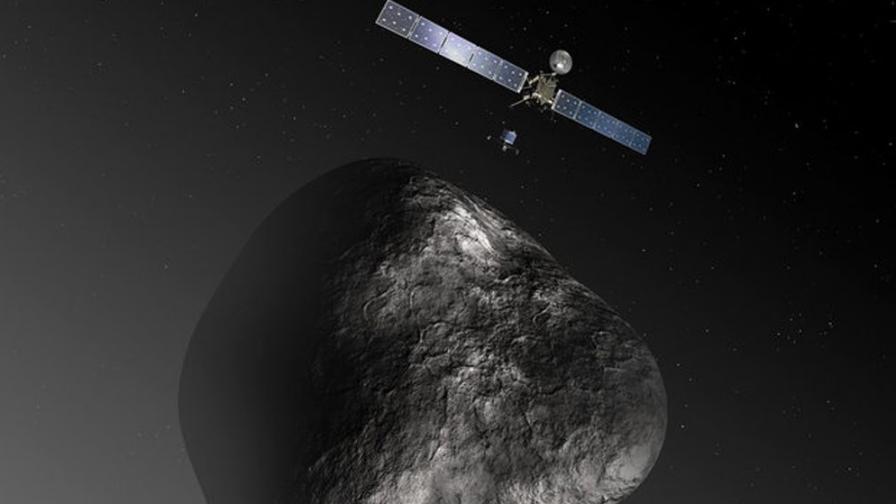 """""""Розета"""" ще се спусне в ледените гейзери на кометата"""