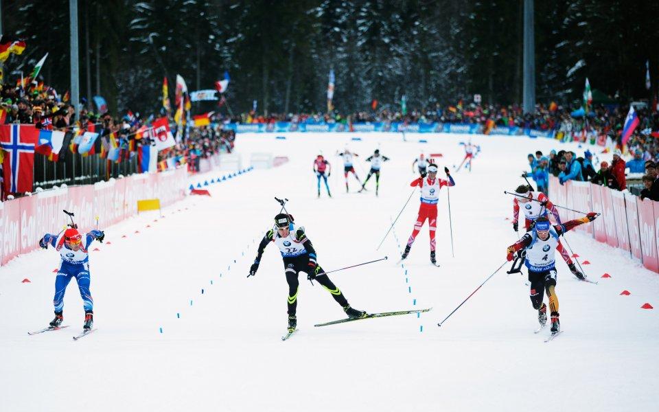 Шемп спечели преследването в Антхолц
