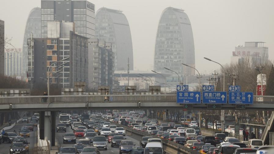 Как в Китай се борят с прекомерния брой коли