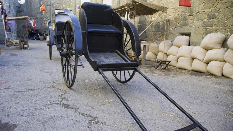 Китайка тегли майка си в рикша 12 хил. км, за да изпълни мечтата й