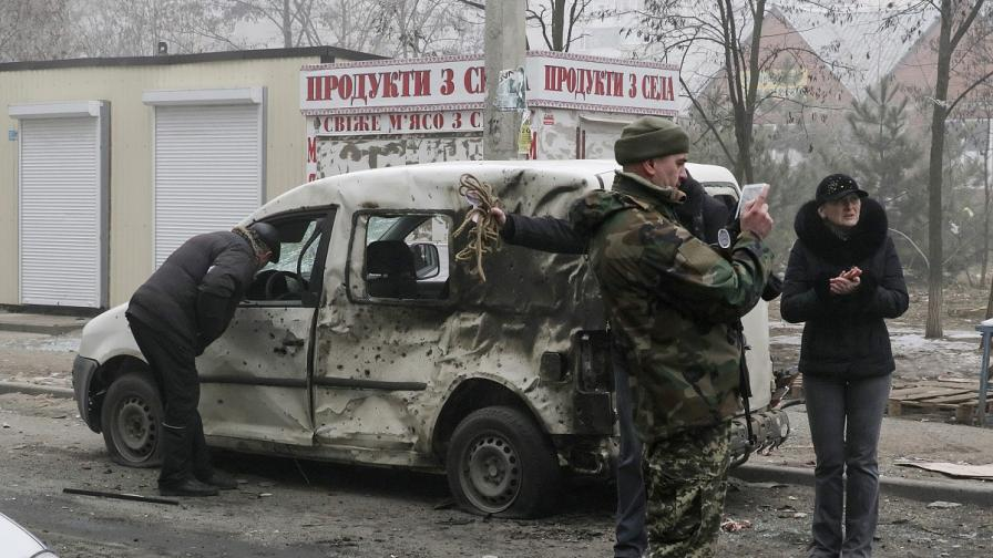 Сепаратистите: Офанзивата срещу Мариупол започна днес