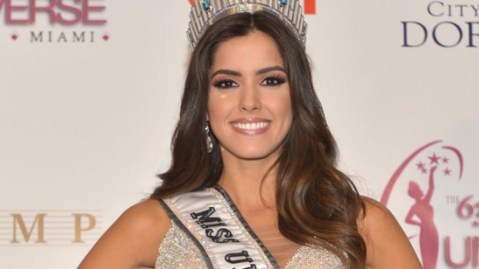 Мис Вселена 2014 e Мис Колумбия - Паулина Вега