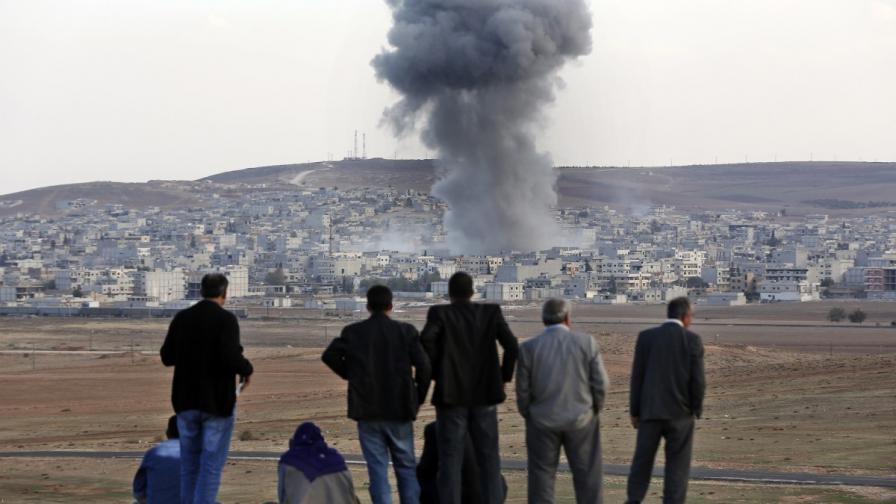 Кюрдските сили изтласкаха ИД от град Кобане