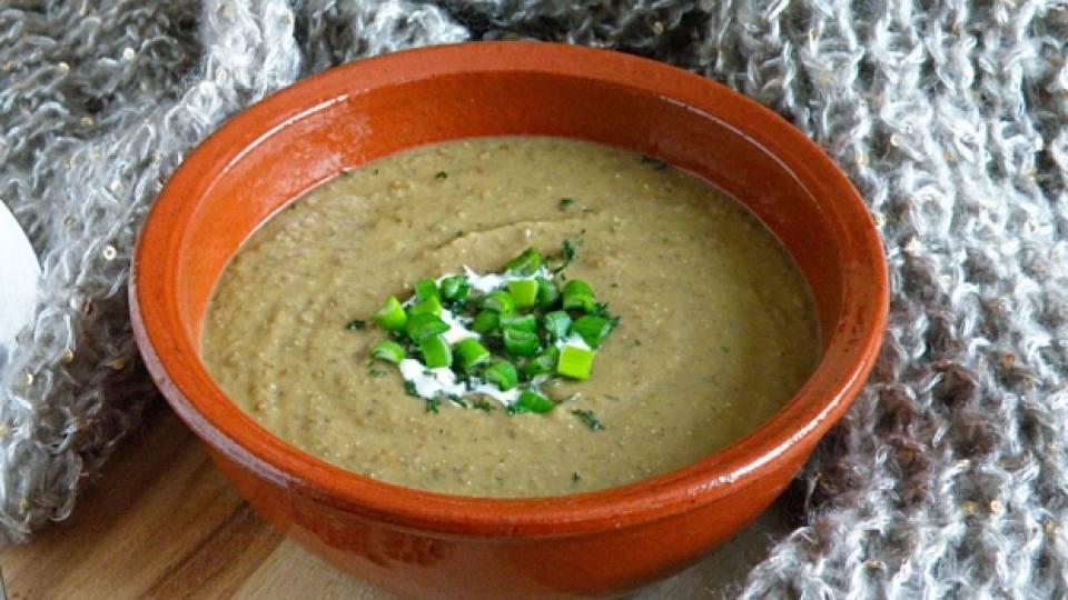 Бърза крем супа
