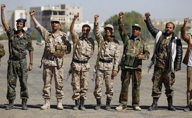 Шиитските бунтовници хуси в Йемен разпуснаха парламента и завзеха властта