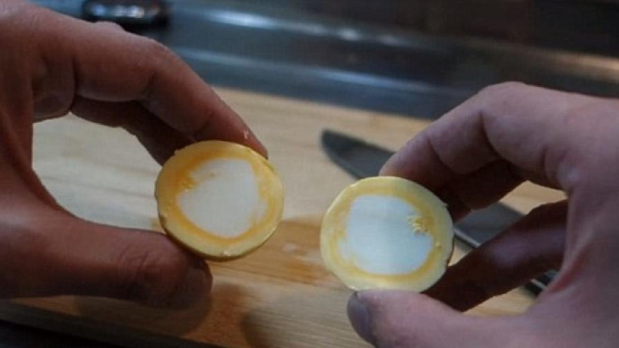Сварените яйца, както не сте ги виждали (видео)