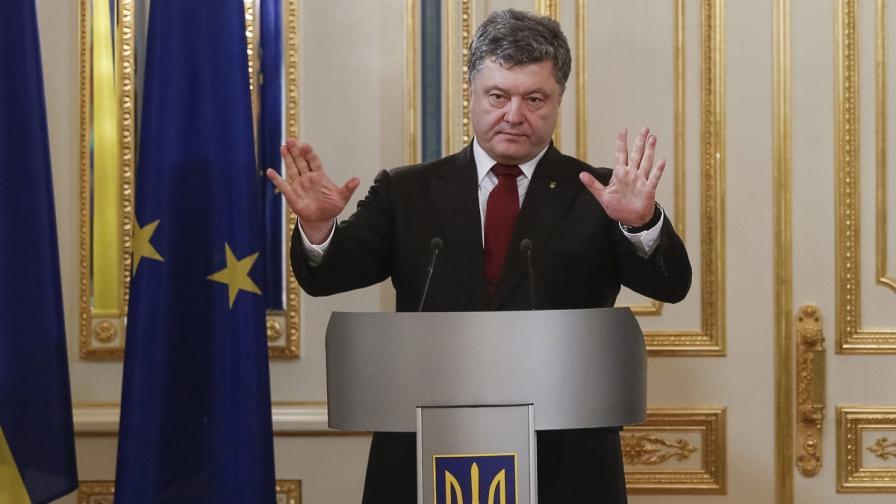 Порошенко: Съветник на Путин е ръководил снайперистите, убили над 100 души в Киев