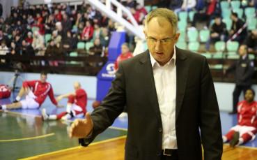 Треньорът на Балкан: Не е реалистично да подновим първенството