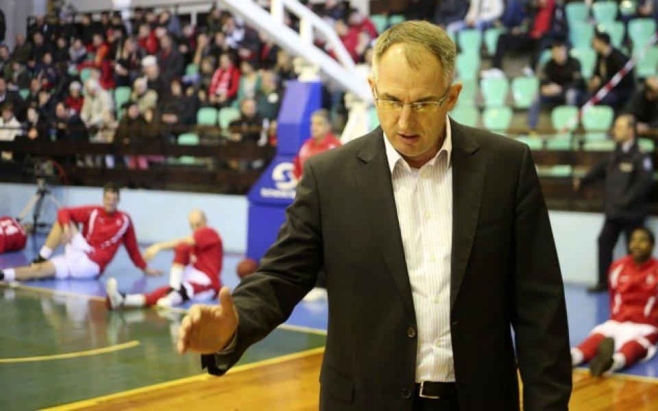 Треньорът на Балкан: Не е реалистично да подновим...