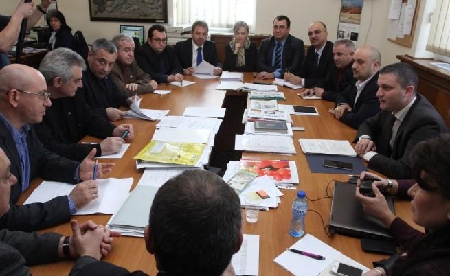 Консултациите на финансовия министър Владислав Горанов с Патриотичния фронт