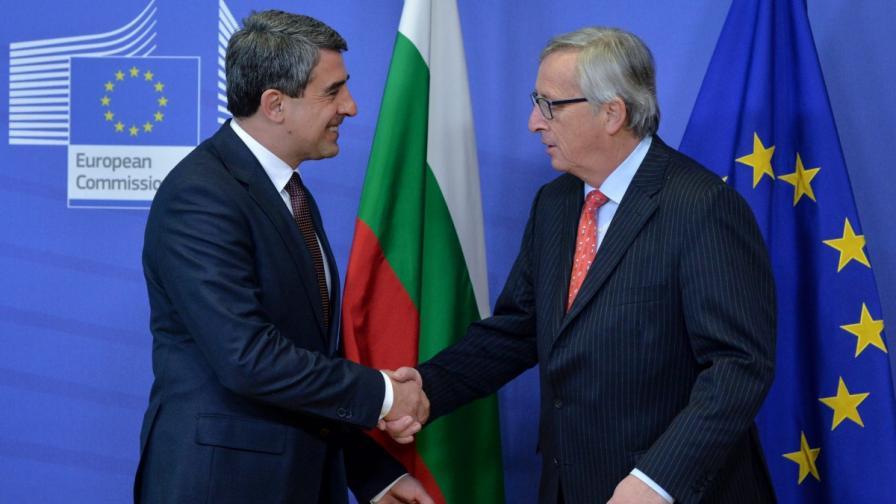 Юнкер: ЕК ще свали наблюдението над България до 2019 г.