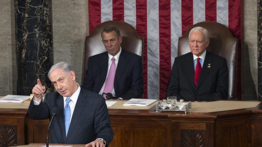 Бенямин Нетаняху говори пред Конгреса на САЩ
