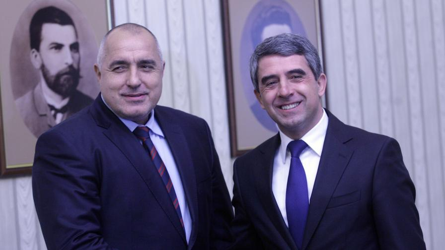 Борисов и Плевнелиев говорили за промените в службите