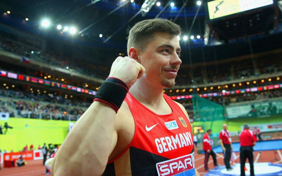 Двукратният световен и трикратен европейски шампион в тласкането на гюле