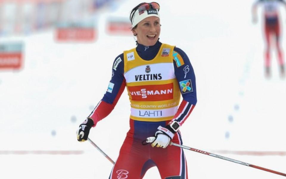 Марит Бьорген взе старта на 10 км в Лахти