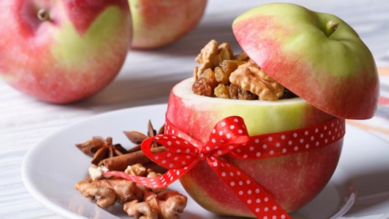 Ябълки зима плодове зеленчуци ядки