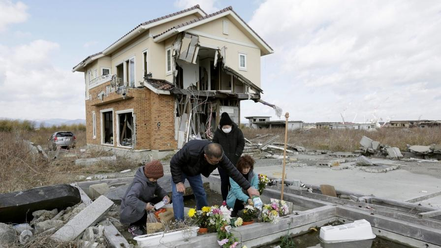 Четири години от разрушителното земетресение в Япония