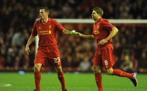 Джерард и Карагър се завръщат в игра за Ливърпул