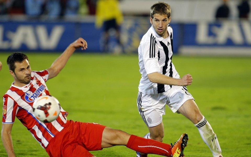 Феърплей в сръбското дерби, играч отказа да вкара гол