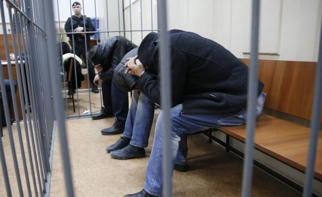 Предявени са обвинения на всички заподозрени за убийството на Немцов
