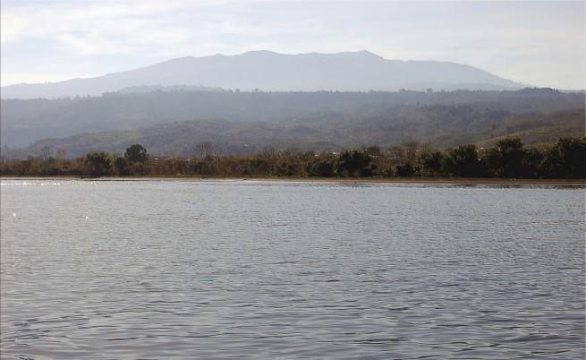 Вулканът Тамбора и брегът на остров Сумбава
