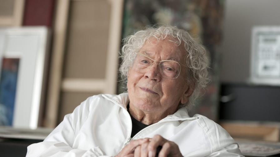 На 106-годишна възраст почина художникът Ханс Ерни