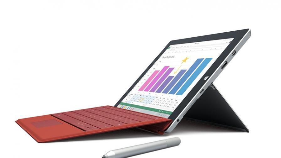 Таблетите на Microsoft са по-харесвани от тези на Apple
