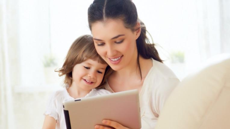 таблет дете деца родител технологии