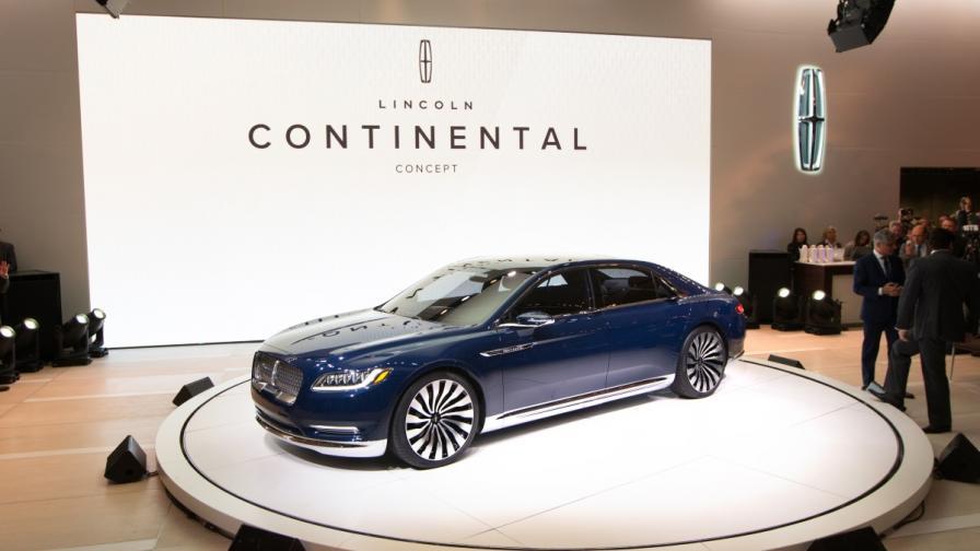 """""""Линкълн"""" показва лукс в бъдещия """"Континентъл"""""""