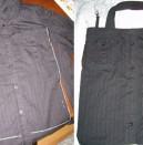 Нов живот за старите дрехи: чанта от риза