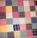 Нов живот за старите дрехи: цветно одеяло
