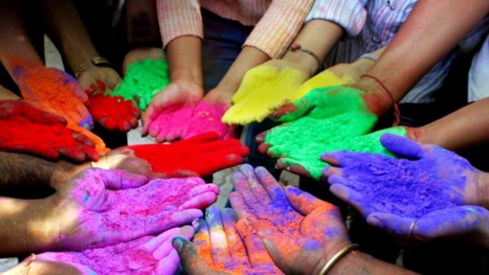 Какво символизират цветовете в Индия