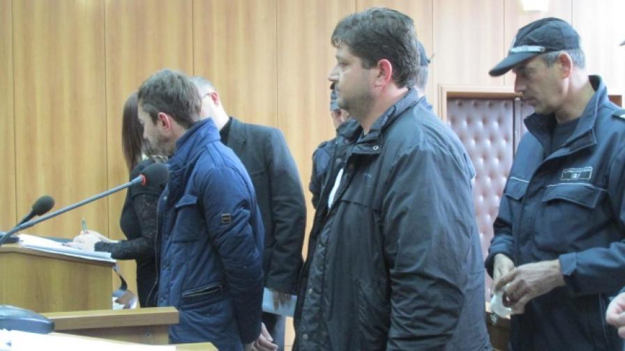 Част от задържаните по време на съдебното заседание днес