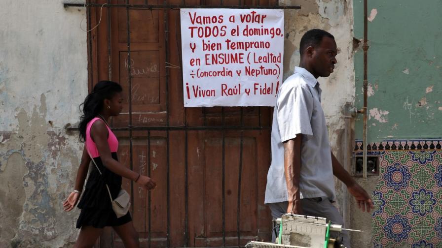 За първи път: кубинците могат да гласуват за противници на режима