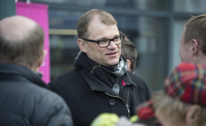 Юха Сипиля, лидерът на Финландския център