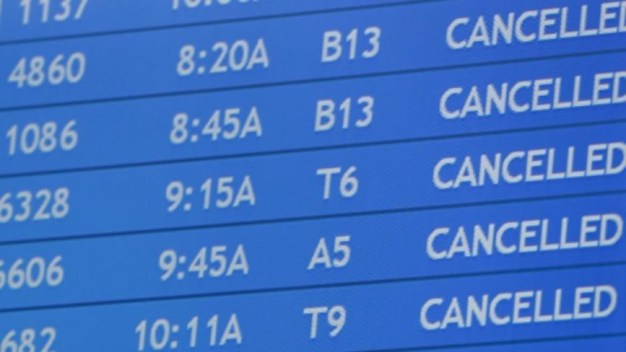 Евакуираха международното летище в Рига заради сигнал за бомба