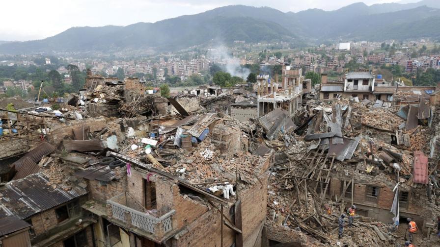 3 млн. души живеят на улицата след трусовете в Непал