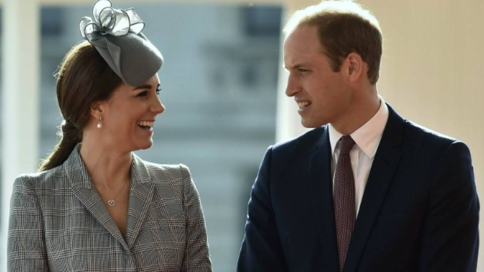 Херцозите на Кеймбридж Уилям и Кейт