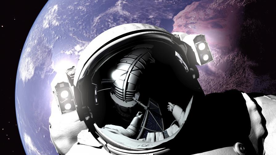 Космическите лъчи може да увредят мозъка на астронавтите