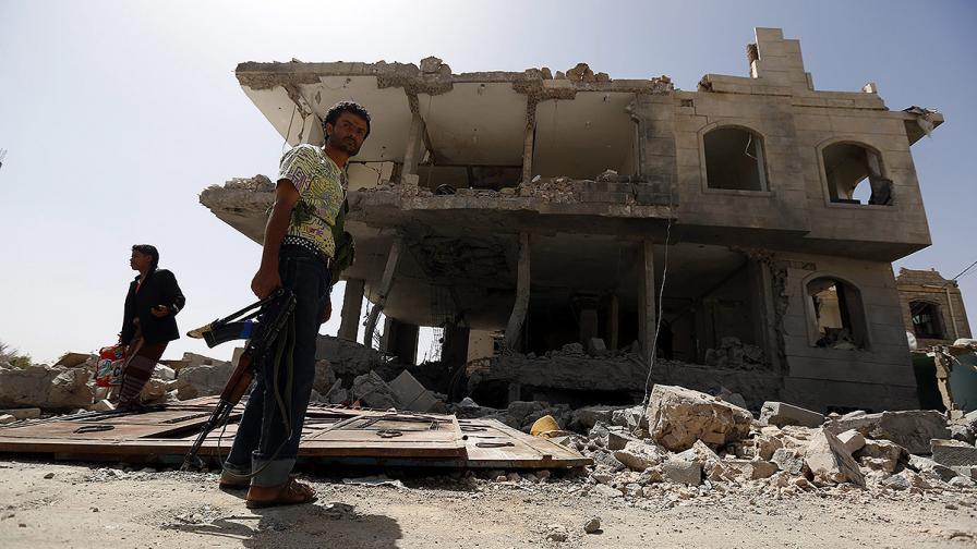 Съобщения за коалиционни войски в Аден, Рияд отрича