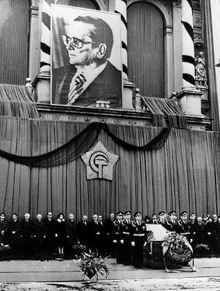 Погребението на Тито през 1980 г.