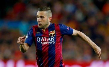 Барселона не знае как да печели без Жорди Алба
